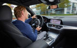 BMW M340i xDrive 2019 first drive review - Greg Kable opposite lock