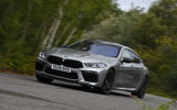 BMW M8 Gran Coupe 2020 UK first drive review - on the road front