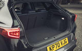 14 Cupra Formentor VZ2 2021 UK first drive boot