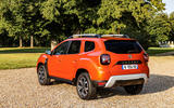 14 Dacia Duster 2021 facelift first drive static rear