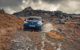 14 Dacia Duster diesel 4x4 2021 UK first drive review splash
