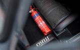 14 David Brown Mini Remastered Oselli 2021 UK FD fire extinguisher