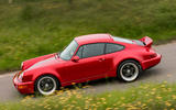14 Everrati Porsche 964 2021 UK FD on road side
