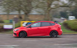 Ford Focus RS Race Red Edition side profile
