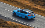 14 Ford Focus ST Edition 2021 UK FD on road aerial