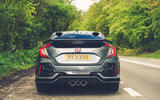 14 Honda Civic Type R Sportsline 2021 UK FD static rear