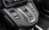 Honda CR-V hybrid 2019 first drive review - centre console