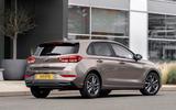 Hyundai i30 2020 UK first drive review - static rear