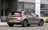 Hyundai i30 2020 UK first drive review - static rear