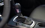 Hyundai Kona Hybrid 2019 first drive review - gearstick