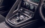 Jaguar F-Type 2020 UK first drive review - centre console