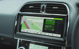 Jaguar XE P300 2019 UK first drive review - infotainment