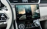 14 Jaguar XF Sportbrake P250 2021 UK review infotainment
