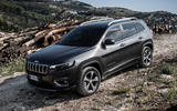 Jeep Cherokee Limited 2018 first drive review static offroad front