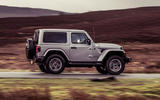 Jeep Wrangler 2019 UK first drive review - on the road side