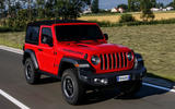 Jeep Wrangler Rubicon 2dr 2018 first drive review on road