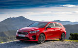 Kia Ceed GT 2019 first drive review - static front