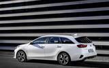 Kia Ceed Sportswagon PHEV 2020 first drive - static rear