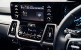 14 Kia Sorento PHEV 2021 UK first drive review climate controls