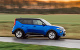 Kia Soul EV 2020 UK first drive review - on the road side