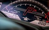 Lamborghini Huracan Evo 2019 first drive review - instrument cluster