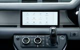 Land Rover Defender 110 S 2020 first drive review - infotainment