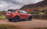 Land Rover Discovery Sport 2019 UK first drive review - static rear