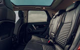 Land Rover Discovery Sport P200 2019 UK first drive review - rear seats