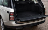 Land Rover Range Rover D300 2020 UK first drive review - boot