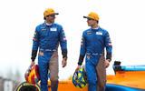 Lando Norris and Carlos Sainz