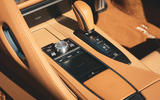 Lexus LC Convertible 2020 UK first drive review - centre console