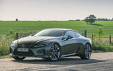 Lexus LC 500 Limited Edition 2020 UK first drive review - static