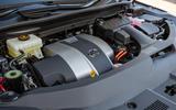 14 Lexus RX 450h L 2021 UK FD engine