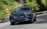 Lincoln Aviator 2020 first drive review - cornering front