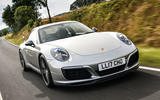 Litchfield Porsche 911 Carrera T 2018 first drive review - on the road front