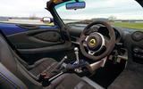 14 Lotus Elise Sport 240 Final Edition 2021 UK first drive review dashboard