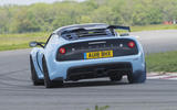 Lotus Exige Sport 410 2018 review on track rear