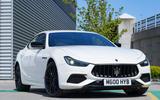 14 Maserati Ghibli Hybrid 2021 UK FD static nose