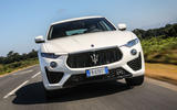 Maserati Levante Gransport 2018 UK first drive review on the road front