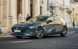 Mazda 3 2019 European first drive review - city driving front