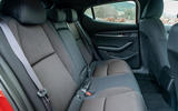 Mazda 3 2019 UK first drive review - rear seats