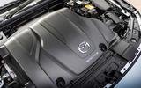 14 Mazda 3 e Skyactiv X 2021 UK fd engine