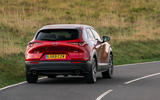 Mazda CX-30 2019 UK first drive review - cornering rear