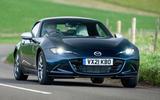14 Mazda MX 5 Sport Venture 2021 UK FD on road front