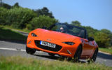 Mazda MX-5 30th Anniversary Edition 2019 UK first drive review - cornering front