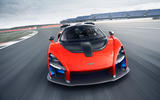 McLaren Senna 2018 UK first drive review on track front