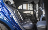 Mercedes-AMG C63 2018 first drive review rear seats