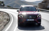 Mercedes-AMG GLB 35 2020 first drive review - on the road nose