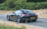 Mercedes-AMG GT C 2018 first drive review on the road rear