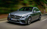 Mercedes-Benz C-Class C200 AMG Line 2018 UK review on the road